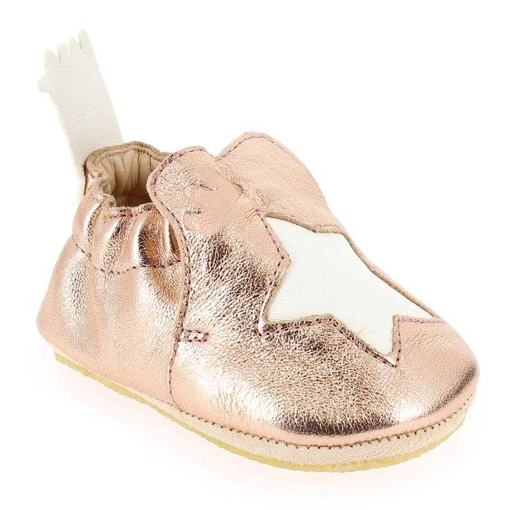 Chaussure Easy Peasy BLUBLU ETOILE Rose 5271001 pour Bébé fille | JEF Chaussures