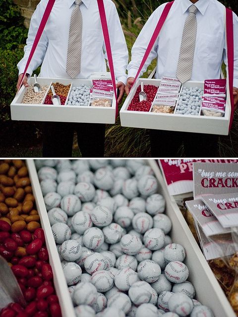 Roving candy trays - a portable candy buffet!
