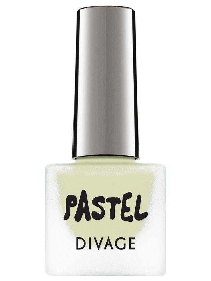 Divage Матовый лак для ногтей pastel, тон  01