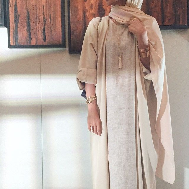 Our new nude abaya only in @official.mirbad limited pieces left!