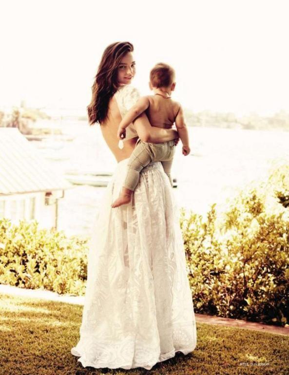 Miranda Kerr and Flynn Christopher Blanchard Copeland
