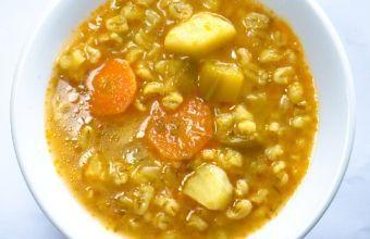 מרק גריסים וירקות | Maya Foods