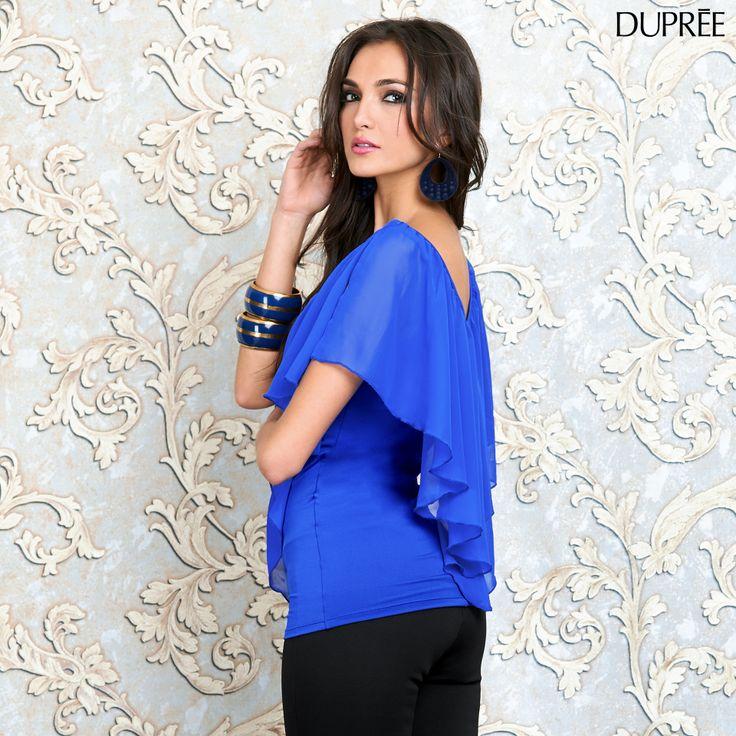 Recuerda siempre llevar tonos que resalten tu belleza. ¿Qué tal si mañana te pones azul? Lucirás increíble.