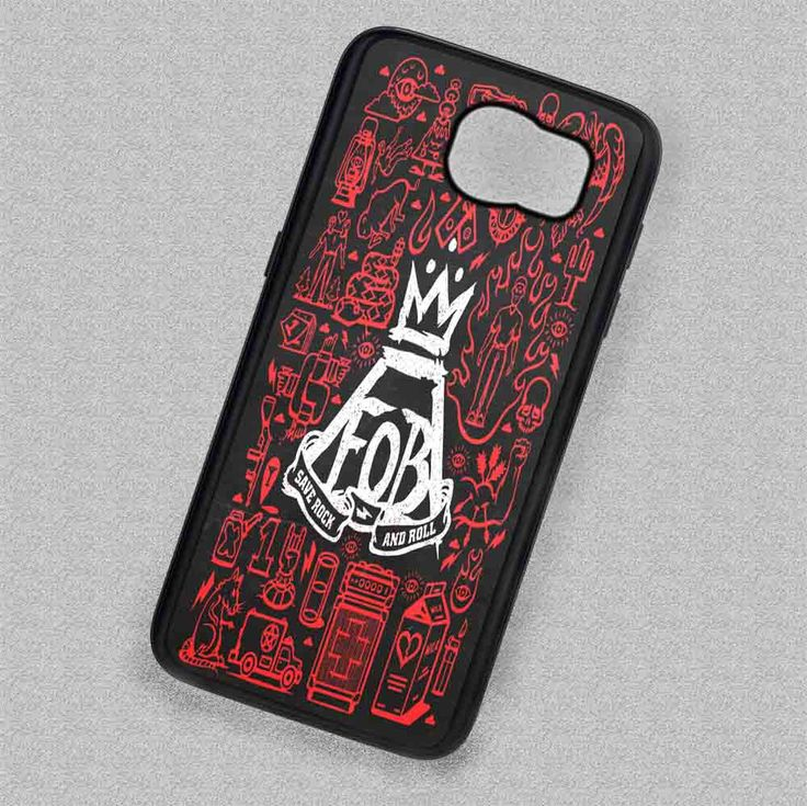 Images Collage Symbol Fall Out Boy - Samsung Galaxy S7 S6 S5 Note 7 Cases & Covers