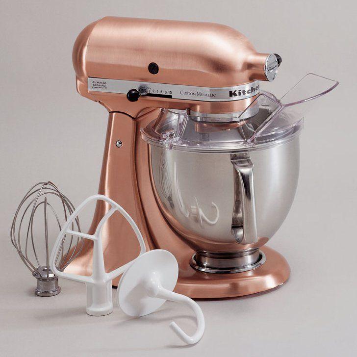 Custom metallic 5 qt stand mixer ksm152ps copper