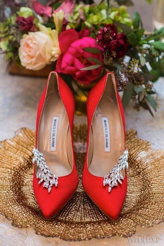 Nice 35 Red Weddings We Actually Like