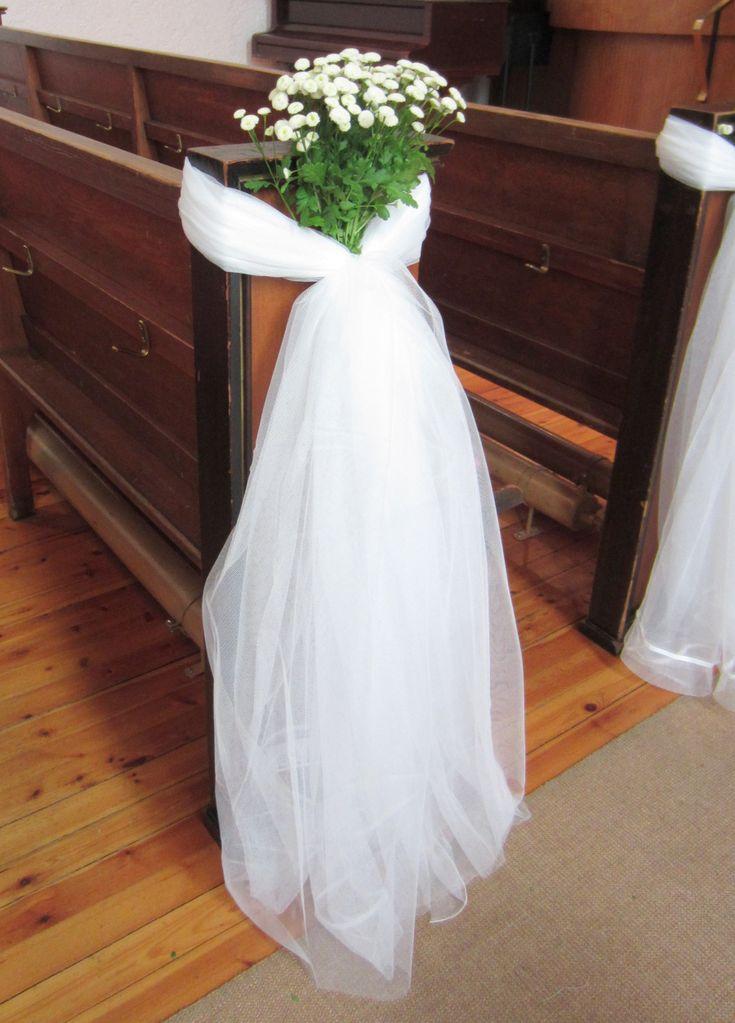 Hvordan pynte kirken til bryllupet til under tohundrelappen (Gjørdetselvbryllup - Bryllupsblogg med DIY ideer til bryllupet)
