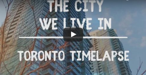 VIDEO The City We Live In : Toronto #Timelapse  http://buff.ly/2qmSjIu?utm_content=buffer40ea2&utm_medium=social&utm_source=pinterest.com&utm_campaign=buffer #Canada