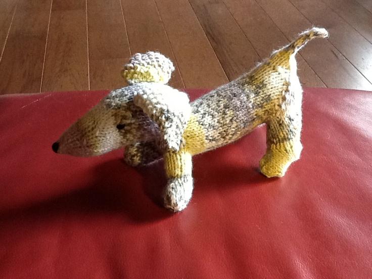 little dog designed by Annita Wilschutt