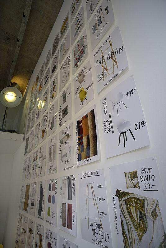 Atelier Pfister Pop-Up-Store in Zurich