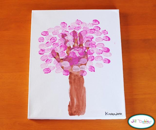 Spring Handprint, so cute!!