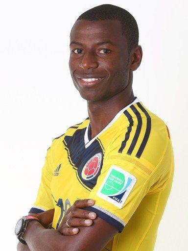 Las fotos oficiales de #Colombia #Fifa #Brasil2014 - Adrian Ramos
