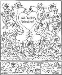 valentines day hidden pictures