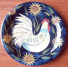 Certified International CIC Susan Winget Rooster \u0026 Sunflowers Dinner Plate ...  sc 1 st  Pinterest & 27 best Mugs images on Pinterest | Mugs Black and white and Coffee mugs