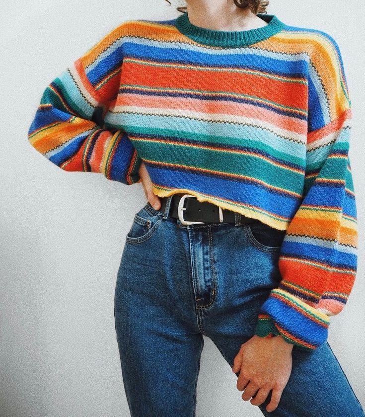 Ich habe mich dafür entschieden, den Pullover zu schneiden und ich liebe es noch mehr