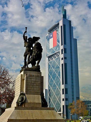 Edificio Telefónica, Santiago Chile.