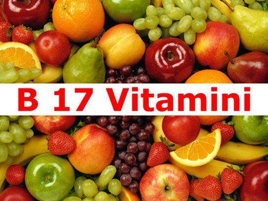 :KANSERE KARŞI B 17 VİTAMİNİ B17 Vitaminin Bol Miktarda Bulunduğu Gıdalar Tam buğday ekmeği Kiraz Vişne Şeftali Üzüm Elma Kereviz Ayva Dut Doğal Karpuz(Kabak köküne aşılanmamış karpuz) Fasulye Mercimek İşlenmemiş fındık Yabani böğürtlen Yabani ahududu Lahana- Karnıbahar B17 Vitamini Çekirdeğinde Bol Bulunan Gıdalar: