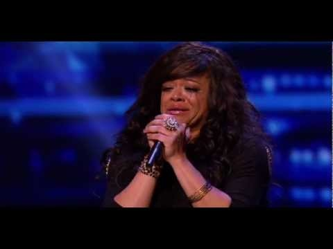 """I don't wanna die with this music in me Simon""  Stacy Francis audition for the X factor."