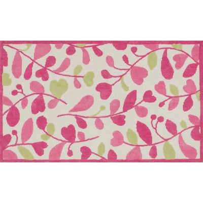 Loloi Rugs Zoey Pink/Green Area Rug Rug Size: 5' x 7'