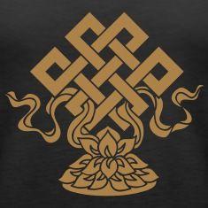 Eternal Knot, Endless, Lotus, Tibetan Buddhism,