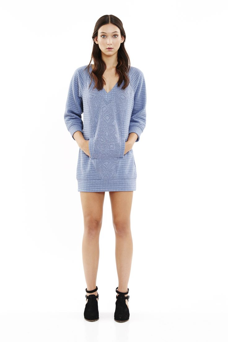 Silent Type Dress in Chambray