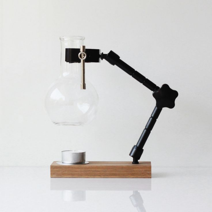 Contemporary lab-style oil burner