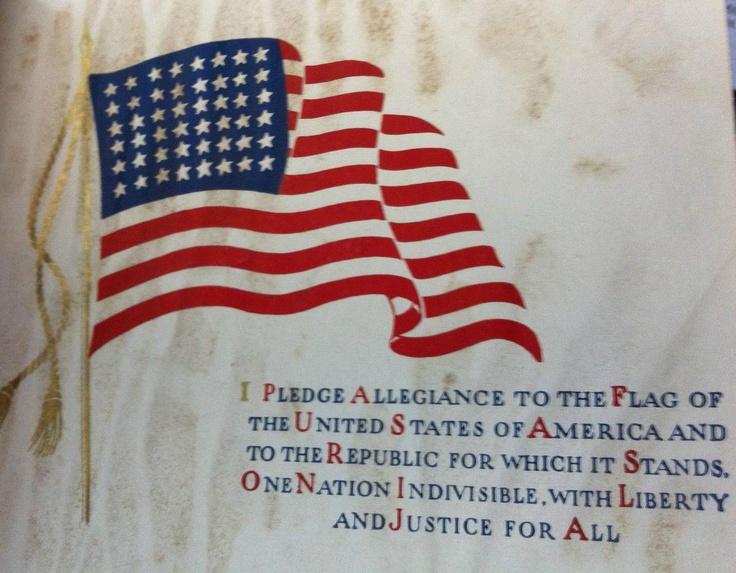 Pledge of Allegiance, 1940