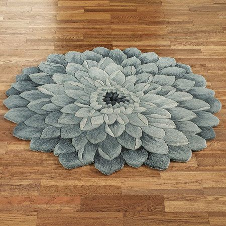 Abby Bloom Round Rug
