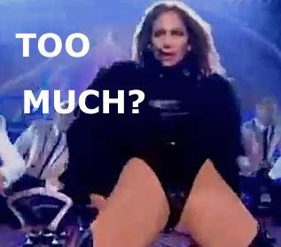 Jennifer Lopez RUMP BUSTING Leotard Dubbed 'Disgusting' On BGT