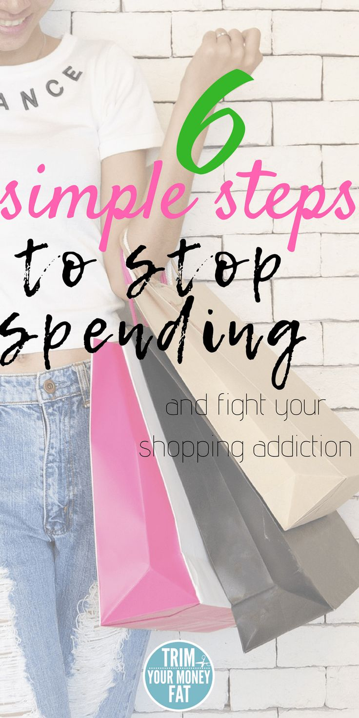6 simple steps to stop your shopping addiction