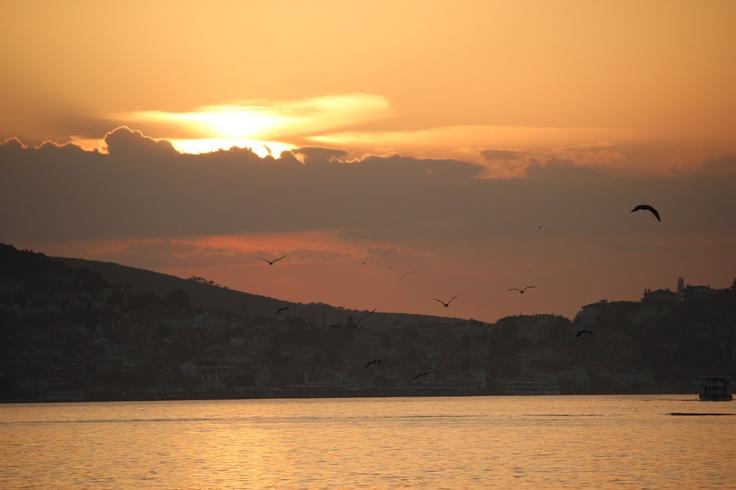 Sunset in Prince's Islands #buyukada #princeislands #istanbul