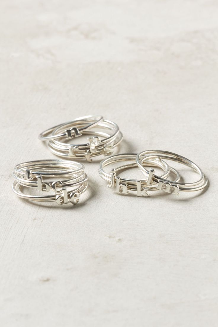 wee initial ring - anthro - ps