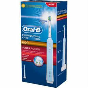 Oral B Professional Care 600 Floss Action