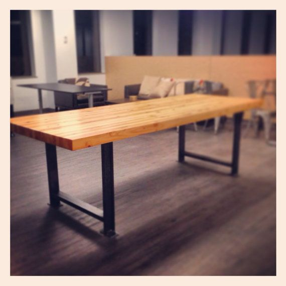 Deon Industrial Style Pattern Metal Rectangle Coffee Table: 25+ Best Ideas About Industrial Table Legs On Pinterest
