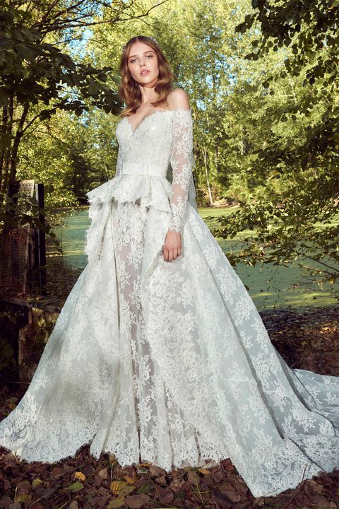 f51be089a2 99 Best Long Sleeve Wedding Dresses 2018 - Top Bridal Gowns with Sleeves
