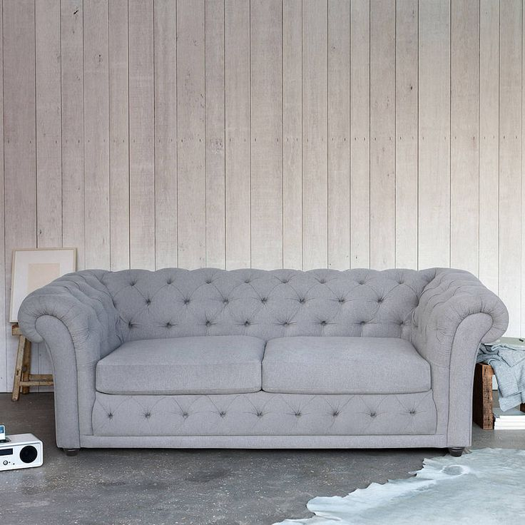 churchill chesterfield sofa bed by love your home for less | notonthehighstreet.com