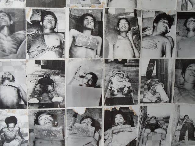 A Prisão S-21, usada no regime dos Khmers Vermelhos, está carregada de uma história negra (os locais dizem que é assombrado) e é um museu aberto ao público.