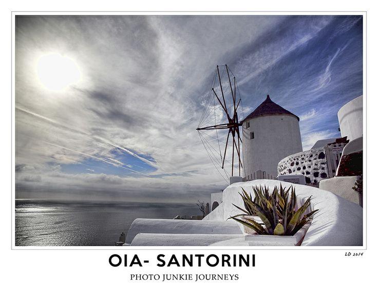 Photo junkie journeys Oia- Santorini