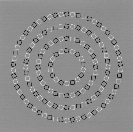 Just 4 concentric circles.