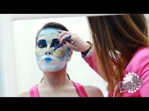 Máscara veneciana, Maquillaje Carnaval / Masquerade Ball, Venetian Mask Carnival Makeup - YouTube