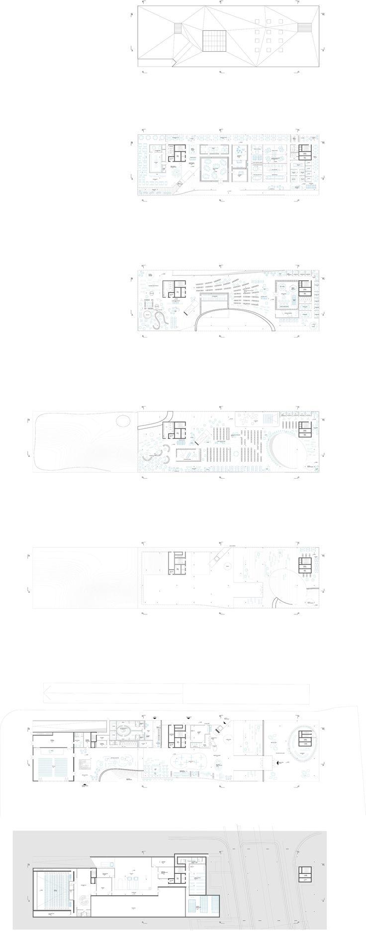 Helsinki Library - Plans