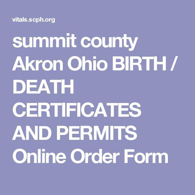Order Online: Order Online Birth Certificate