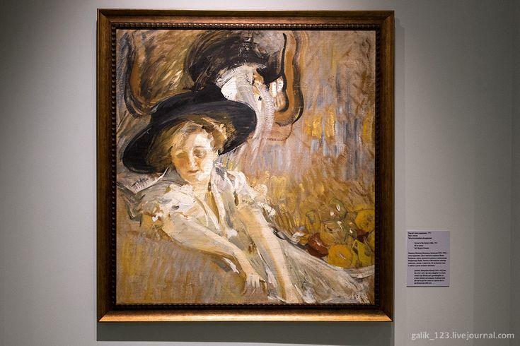 Другой Михаил Шемякин - Наводы Портрет жены художника, 1911. Холст, масло. Тульское музейное объединение