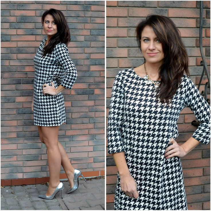 Ola Wiecha - H&M Dress, Zara Heels - Merry Christmas | LOOKBOOK
