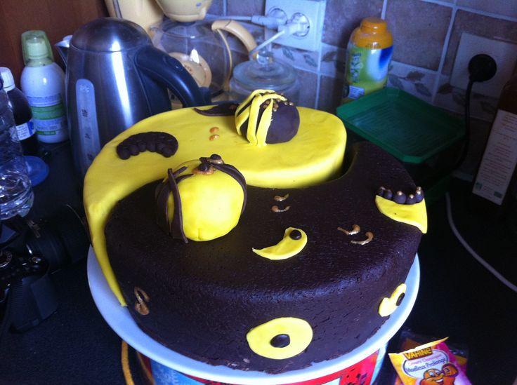 gâteau ying yang