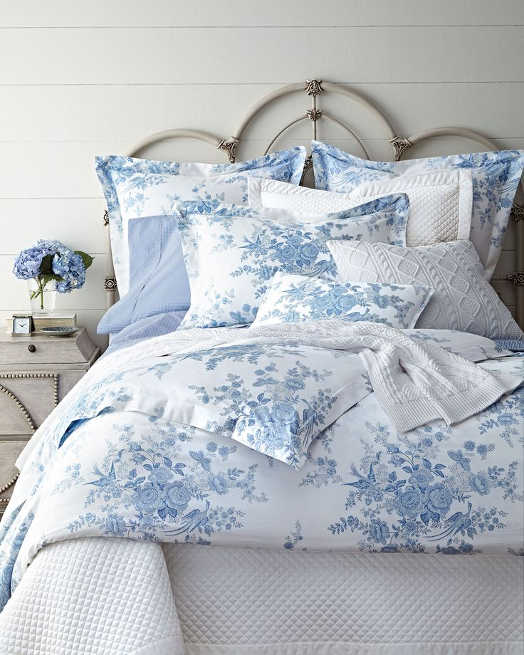 357 Best Images About Blue Amp White Linens Pillows