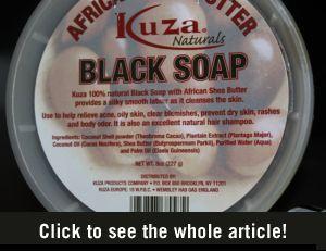 Wondermiddeltje: zwarte zeep - Vrouwen.nl