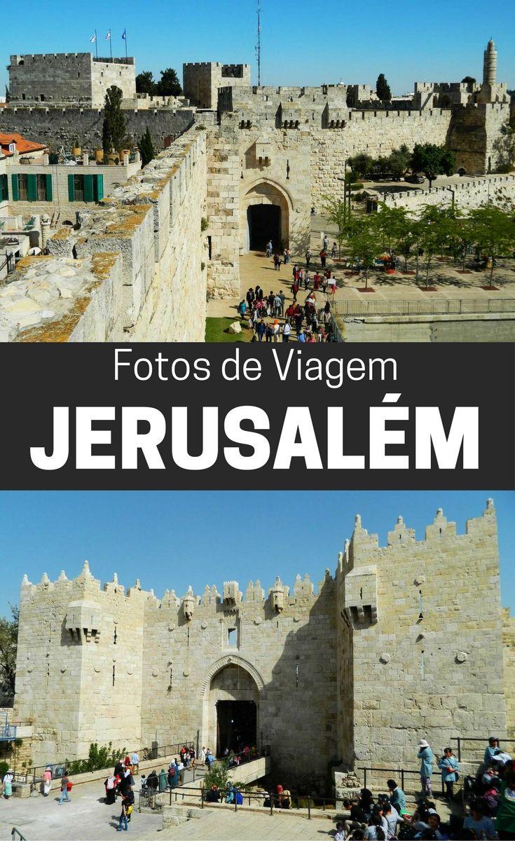 Fotos de Viagem a Jerusalém: o lado religioso é o que mais chama nessa cidade de Israel, mas ela também preserva seu estilo medieval com suas muralhas; veja imagens dessa viagem para conhecer a história desse lugar dividido; photos of Jerusalem