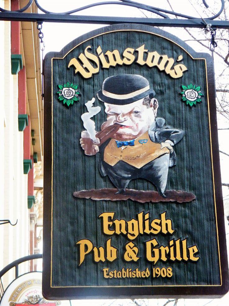 Winston's English Pub & Grille ~ Saskatoon, Canada