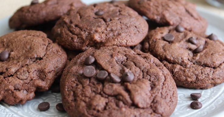 Duplacsokis keksz - A legegyszerűbb vendégváró sütemény | Femcafe